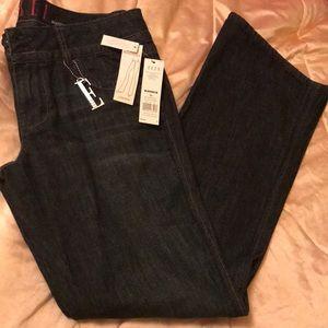 Elle's Low Rise Boot Cut Denim Jeans